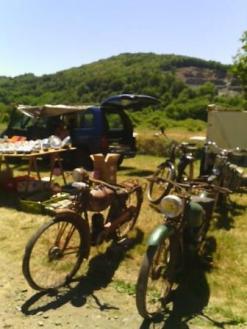 old moter bikes